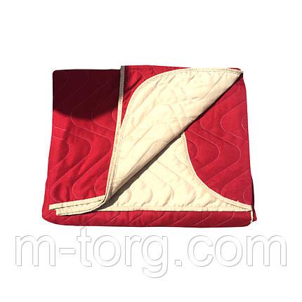 """""""Двухцветное"""" Летнее одеяло покрывало полуторный размер 150/210, фото 2"""