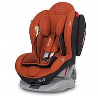 Детское автокресло с вкладышем для новорожденных и креплением isofix EasyGo Tinto 0-25 cooper, оранж (8390)