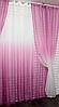 Красивый комплект штор для гостиной, фото 3