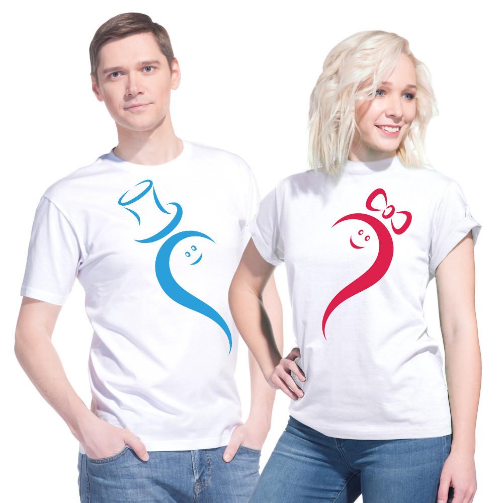 """Парные футболки для влюбленных """"Мистер + Миссис"""""""