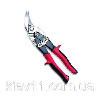 Изогнутые ножницы по металлу (левые) 240 мм TOPTUL SBAD0124
