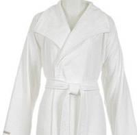 Бамбуковый халат Hamam WATERSIDE WHITE размер L/XL
