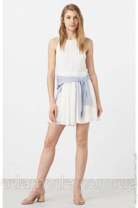 Женское платье mango белое