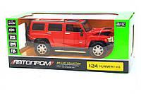 Машинка игровая автопром «Hummer H3» Красный 68240A, фото 1