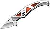 Нож спецназначения Клинок сталь 440С Не ржавеющая. Тычковый. Рукоять-металл с дизайнерскими вставками, фото 2