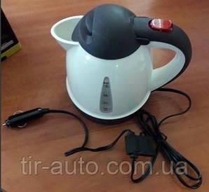 Чайник портативный 1 L, 24V/250W, провод 1,4м с блоком под предохранитель ( FERZE ) MG35784