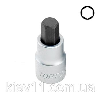 "Торцевая насадка HEX TOPTUL 4 мм 55мм 1/2"" BCDA1604"