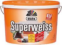 Dufa Superweiss (Дюфа супервейс) D4 Суперстойкая виниловая краска 10 л, фото 1