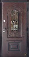 Двері вхідні, полімерна плита, 960x2050, зовнішні, праві, №1091115