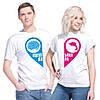 """Парные футболки для влюбленных """"Идеальная пара"""""""