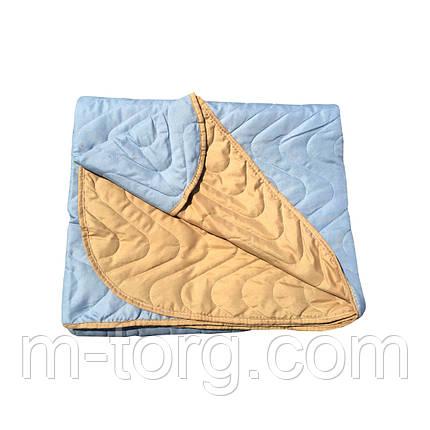 """""""Двухцветное"""" Летнее одеяло покрывало двуспальный размер 180/210, фото 2"""
