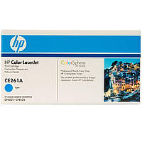 Тонер-картридж HP 648A CLJ CP4025/4525 Cyan 11000 страниц