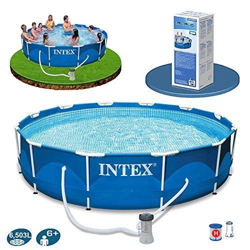 Каркасный бассейн Intex 28212 с фильтр-насосом 366 х 76 см круглый