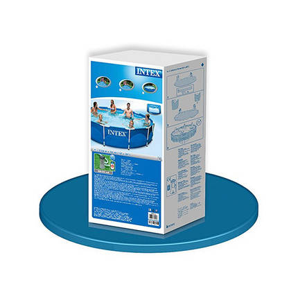 Каркасный бассейн Intex 28212 с фильтр-насосом 366 х 76 см круглый, фото 2