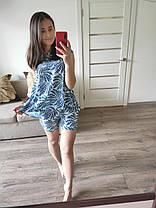 Костюм с шортами в расцветках 82092, фото 3