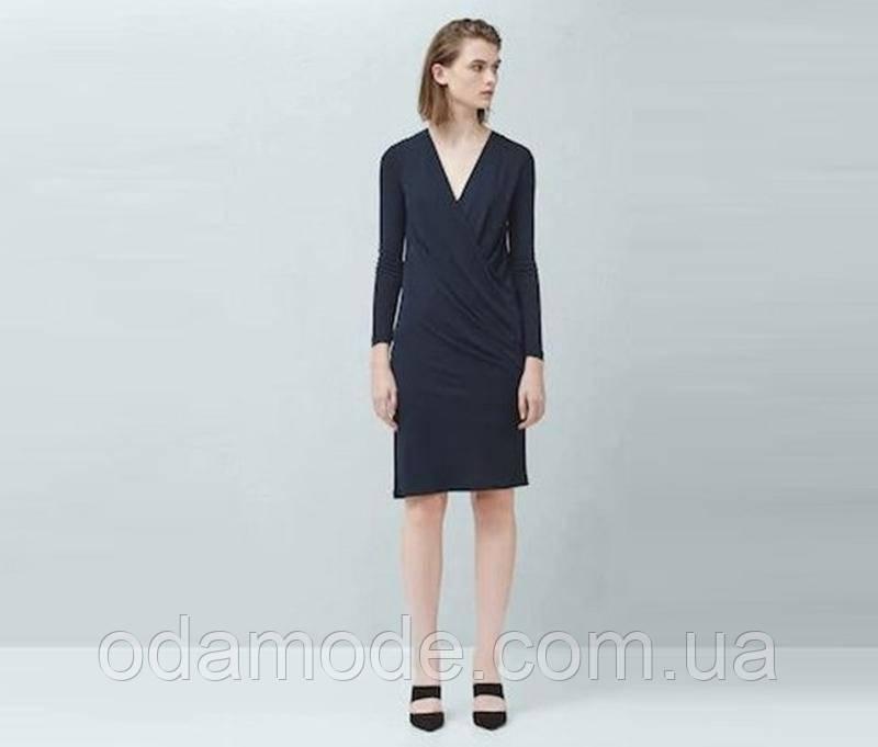 Платье женское mango синее