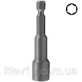Головка для шуруповерта TOPTUL 13мм L=65мм магнитная BEAA0813