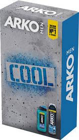 Подарочный набор ARKO Men Пена для бритья Cool 200 мл + Гель для душа Cool 250 мл