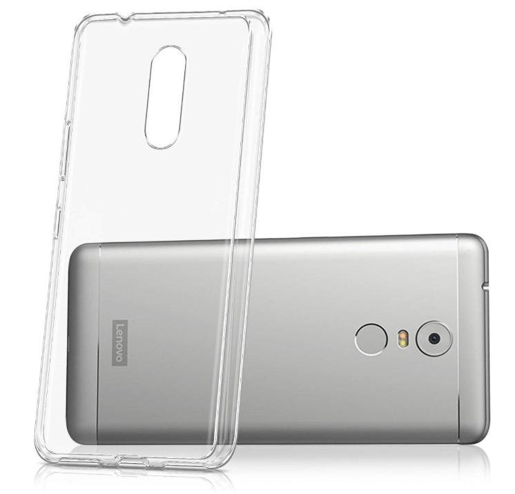 Прозрачный силиконовый чехол для Lenovo K6 Note