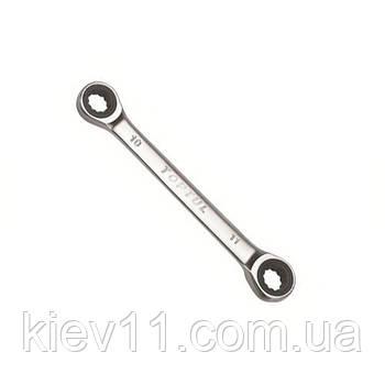 Ключ трещоточный накидной TOPTUL 10х11мм AOAG1011