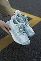 Женские кроссовки Adidas Yeezy V2, Cloud White , Реплика, фото 1