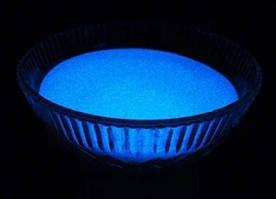 Светящийся порошок люминесцент синий в темноте и белый на свету Люминофор Просто и Легко 20г SKL12-241319