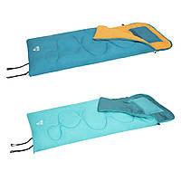 Спальный мешок-одеяло, спальный мешок с подушкой, 205х90 см, 2 вида