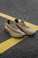 Чоловічі кросівки Adidas Yeezy 350 Earth , Репліка, фото 1