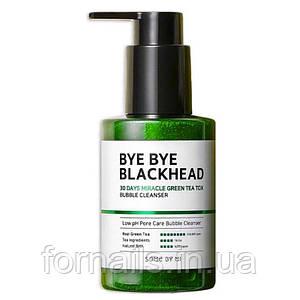 Маска-пенка от чёрных точек Some By Mi BYE BYE BLACKHEAD 30 Days Miracle Green TeaTox 120г