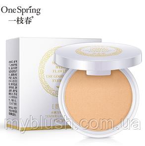 Пудра для лица One Spring Tender Lady с матирующим эффектом 10 g № 1 (натуральный цвет)