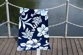 """Полотенце пляжное велюровое """"Lotus"""" Hawaii"""