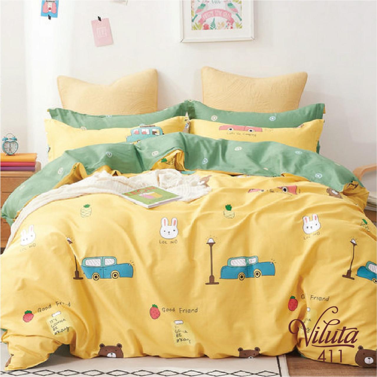 Постельное белье в детскую кроватку Viluta. Сатин 411