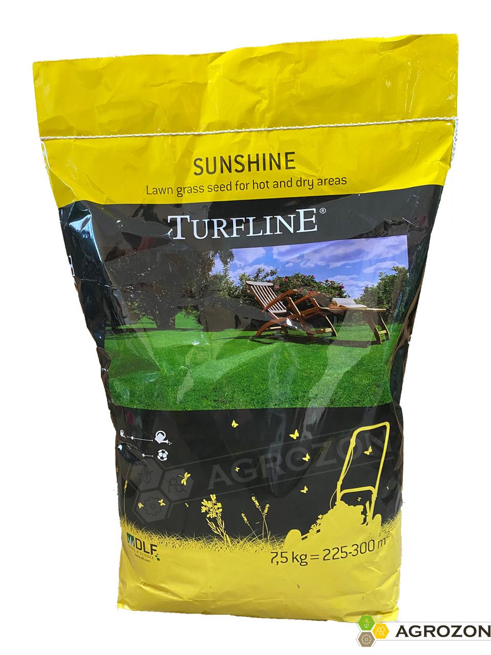Газонная трава для солнца Turfline Sunshine / Саншайн, DLF Trifolium - 7,5 кг