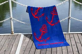 """Полотенце пляжное велюровое """"Lotus"""" Marina Yachting"""