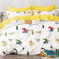 Постельное белье в детскую кроватку Viluta. Сатин 412, фото 1