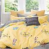 Постельное белье в детскую кроватку Viluta. Сатин 413