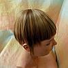 Челка накладная на защелках (клипсах) русая милировка10-028- 10Н124, фото 4