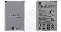 Батарея (акб, аккумулятор) BL-59JH для LG Optimus L7 2 P713 / P715 (2460 mAh), оригинал