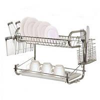 Сушка для посуды настольная встроенная STENSON Julliet 65х24.5х36 см (сушарка для посуду настільна вбудована)