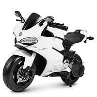 Детский мотоцикл «Ducati» M 4262EL-1 Белый