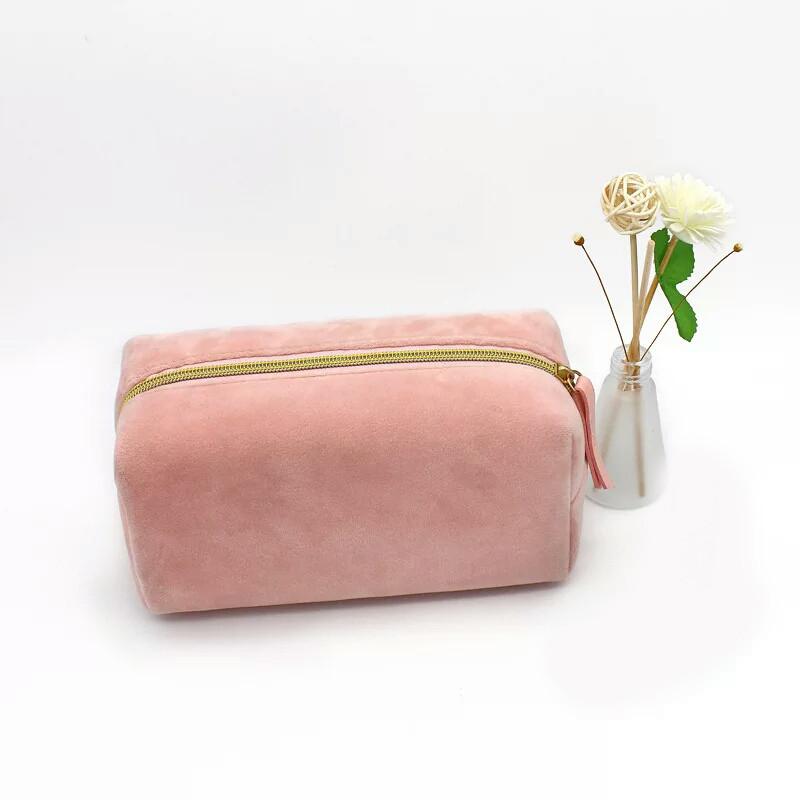 Косметичка органайзер на молнии Розовый персик
