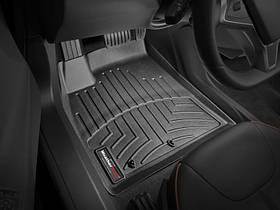 Килими гумові WeatherTech Tesla Model S 2012-2014 передні чорні (без логотипу на отворі MODEL S )