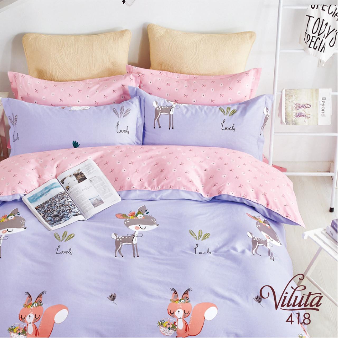 Постільна білизна в дитячу ліжечко Viluta. Сатин 418