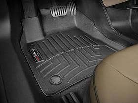 Килими гумові WeatherTech Tesla Model S 2014+ передні чорні