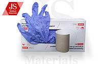 Перчатки медицинские смотровые нитроловые JS нестерильные неприпудрени, размер р.L,M,S пара№50