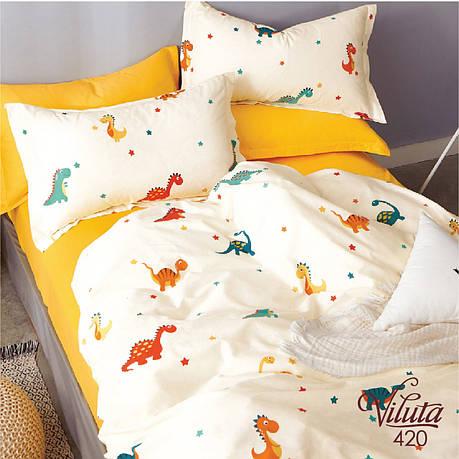 Постельное белье в детскую кроватку Viluta. Сатин 420, фото 2
