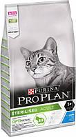 Сухой корм для стерилизованных кошек и котов Purina Pro Plan Sterilised с кроликом 1.5 кг
