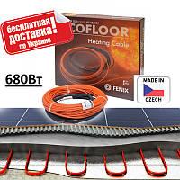 Нагревательный Кабель для Теплого Пола FENIX ADSV 18 Вт/м (Чехия) 37.9м / 3-4.5м2 / 680 ВТ