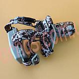 Налобний ліхтар акумуляторний 003M-T6, фото 4