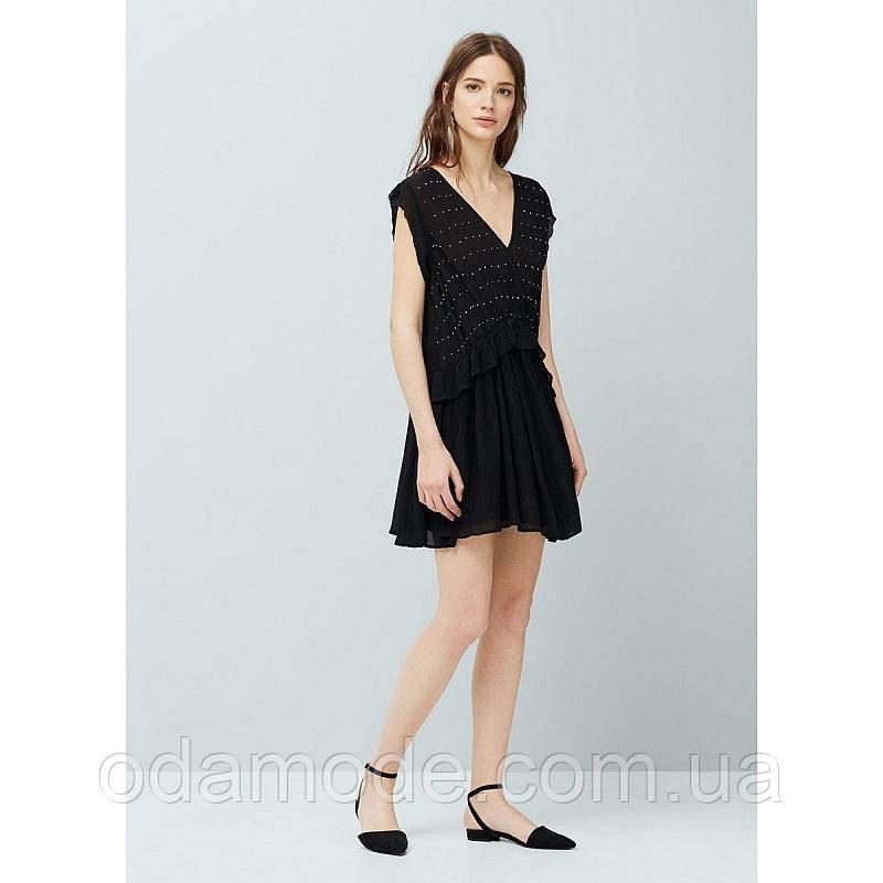 Платье женское mango черное